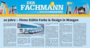 Stähle Farbe & Design / Schwäbische Zeitung